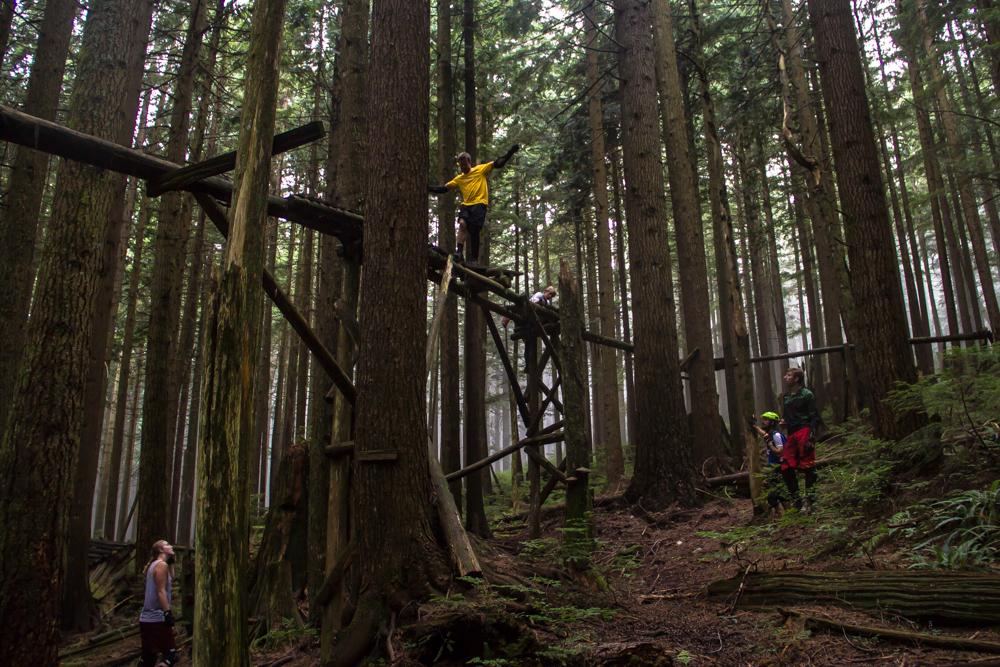 Gerald Rosenkranz @ Vancouver mountain bike trails